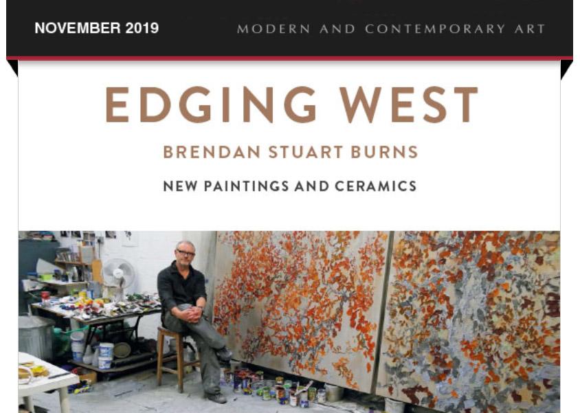 Brendan Burns Exhibition Newsletter