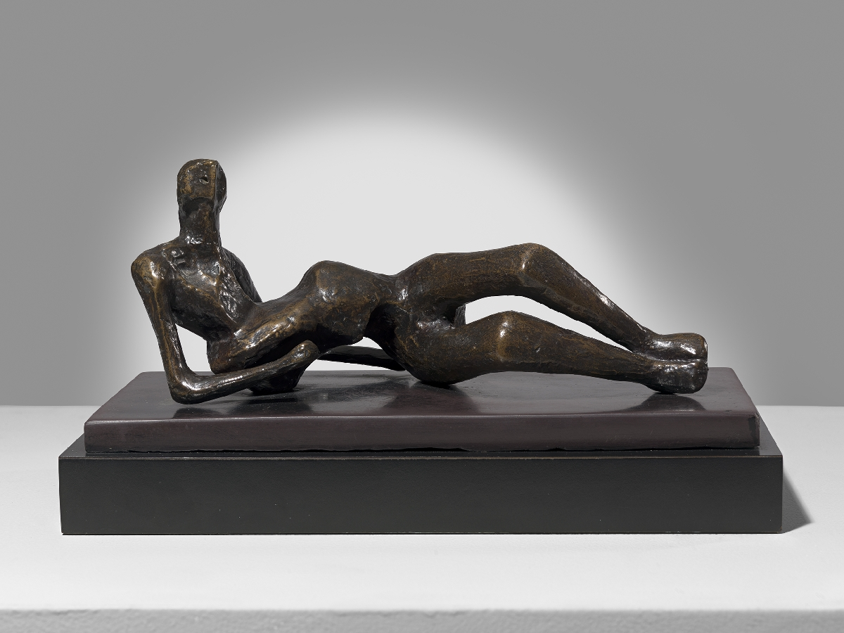 Maquette for Reclining Figure No 2
