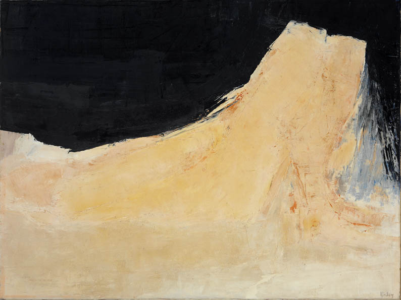 Reclining Figure (Black & Pink)