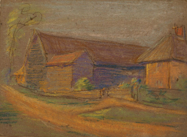 Untitled (Farm Buildings)