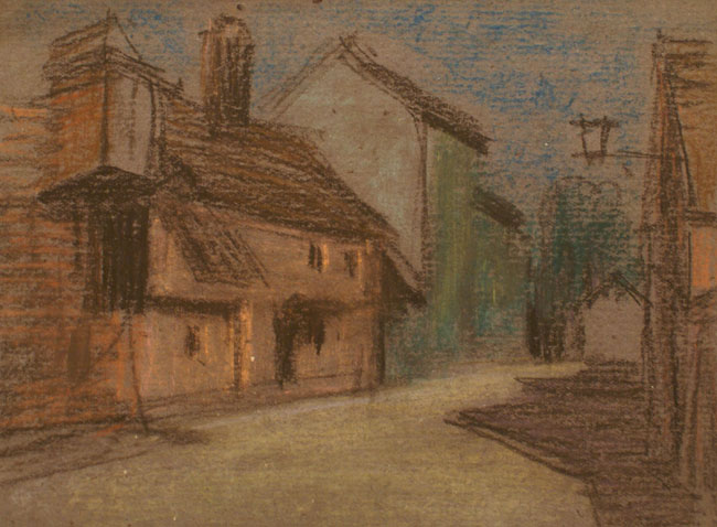 Untitled (Village Street 1)