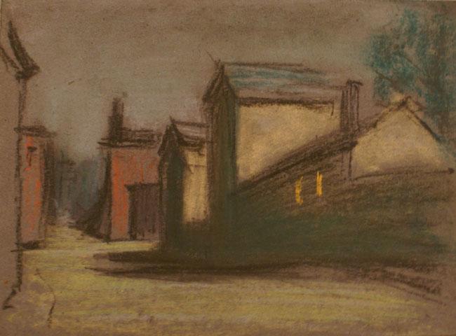 Untitled (Village Street 2)