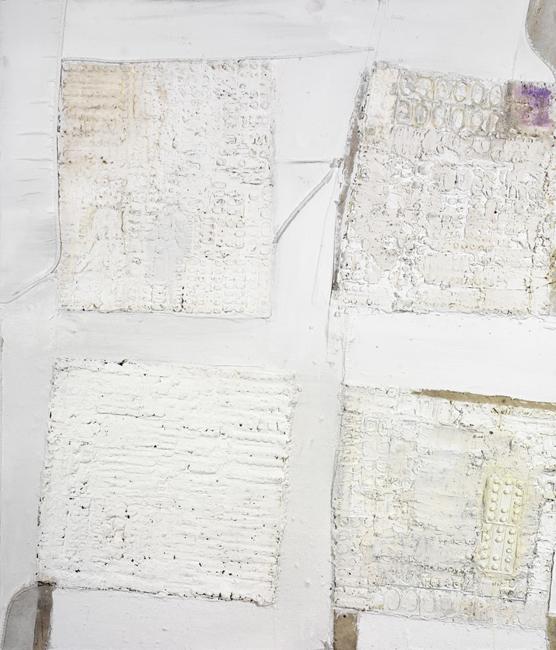 Four White Squares II