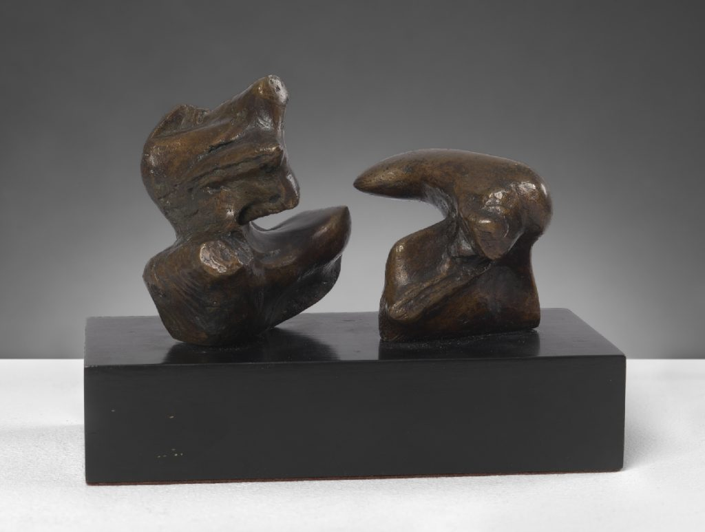 Maquette for Two Piece Reclining Figure: Points