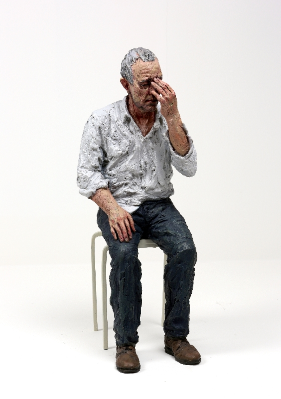 Untitled (Man on a Stool)