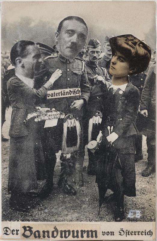 Der Bandwurm (The Tapeworm) from Austria (Adolf Hitler)