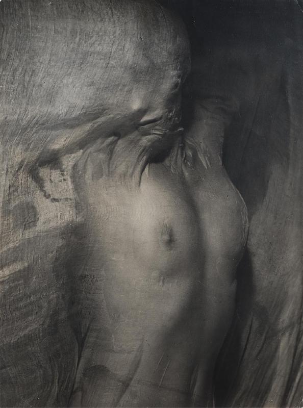Nude under Wet Silk, Paris