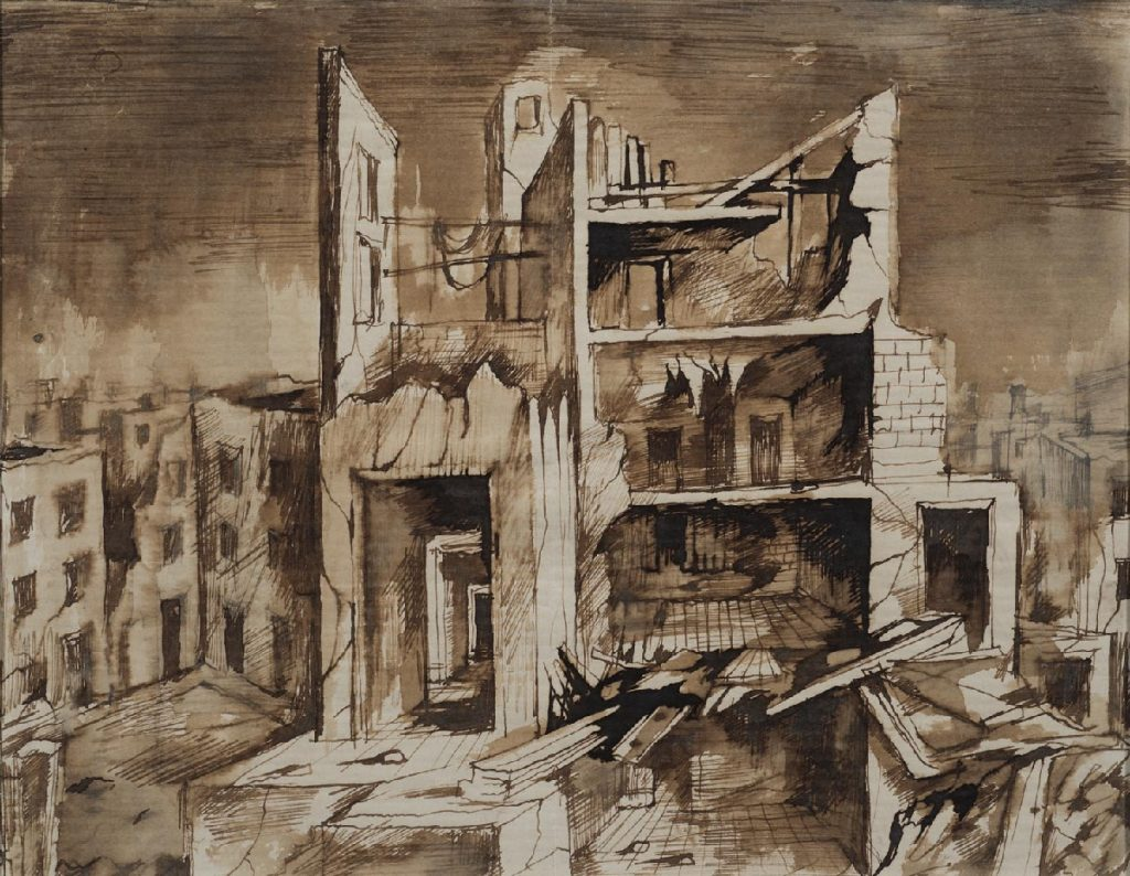 Bomb Damaged Buildings
