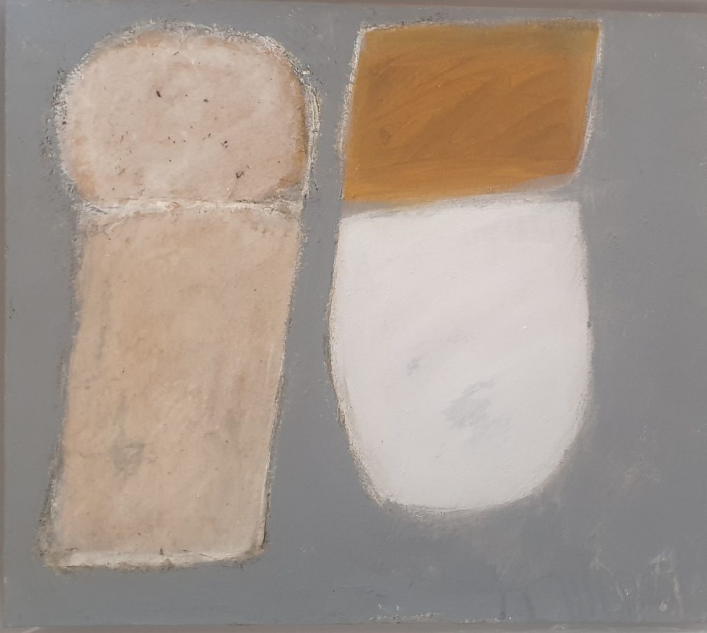 Two Shades Side by Side Grey and Ochre 1962 revisited