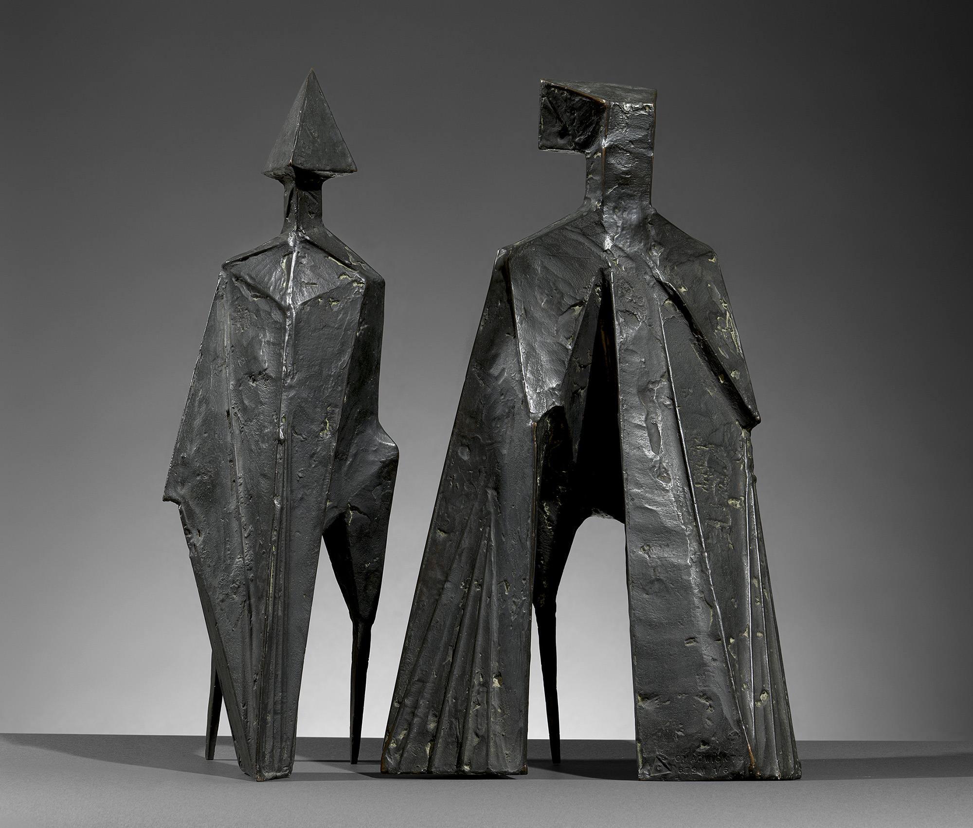 Maquette V Two Winged Figures