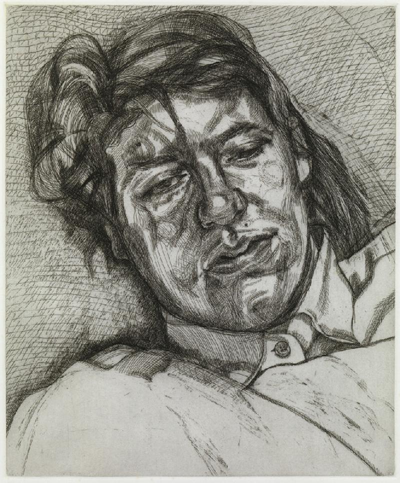 Staff Feature: Lucian Freud – Bella, 1987