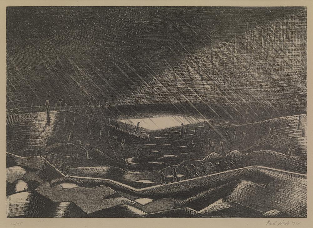 Rain, Lake Zillebeke