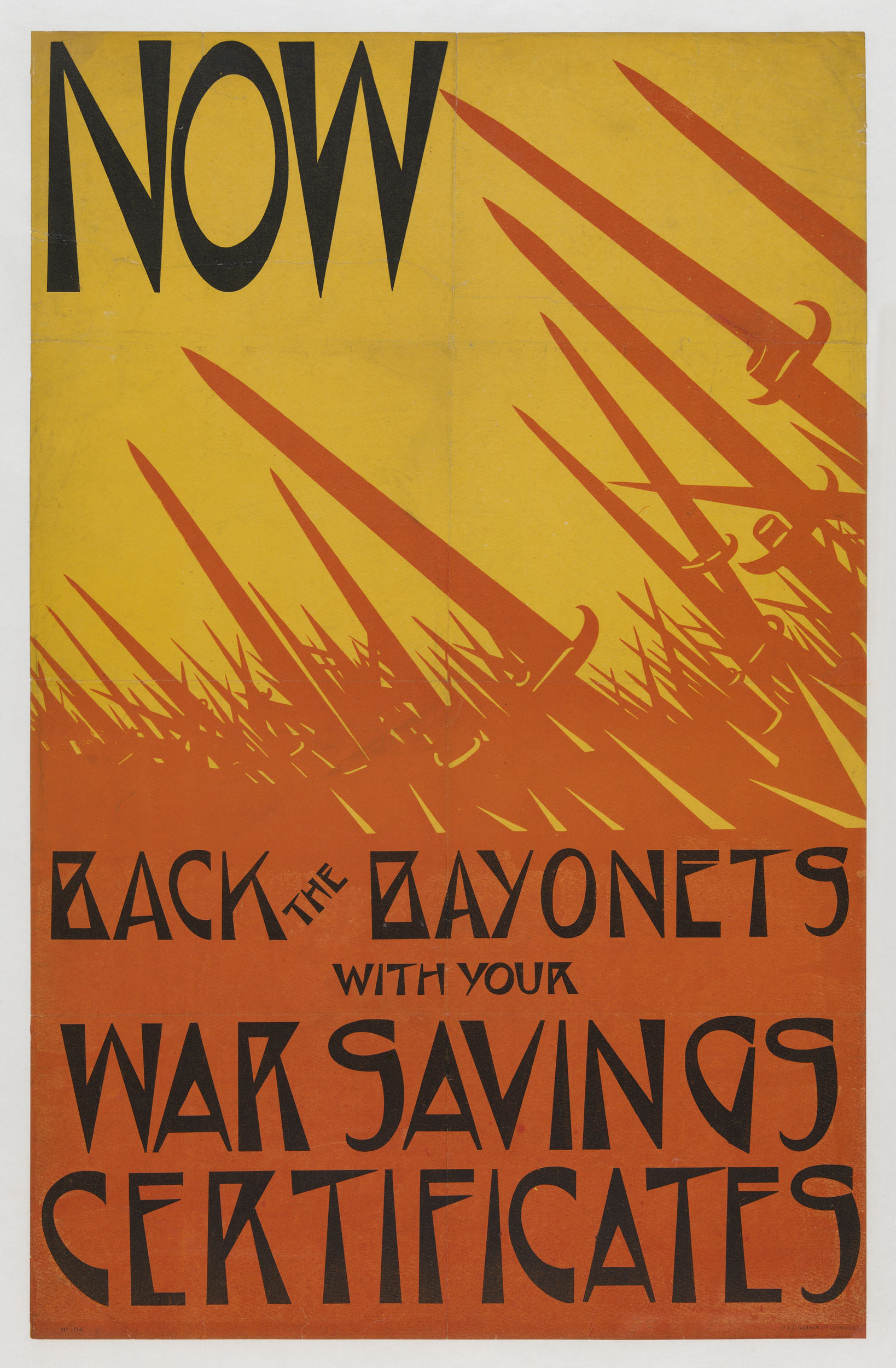 Now Back the Bayonets
