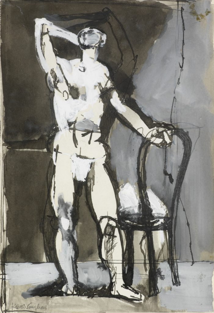 Man with a Chair