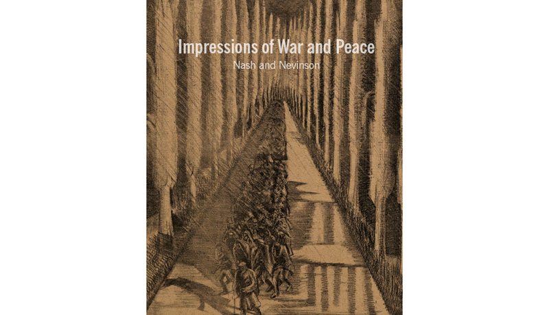Nash & Nevinson: Impressions of War & Peace – Exhibition Catalogue