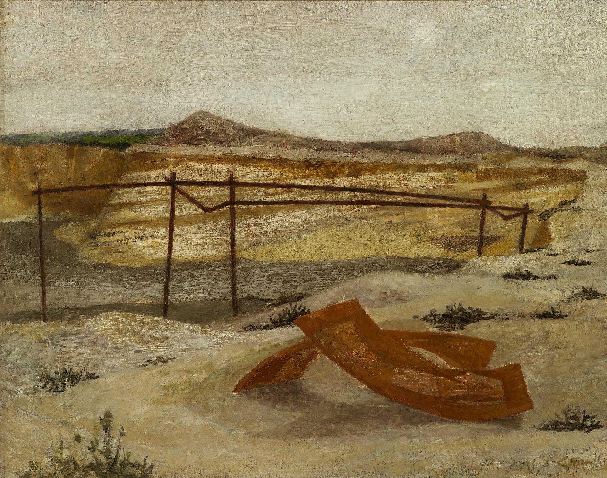 Deserted Gravel Pit