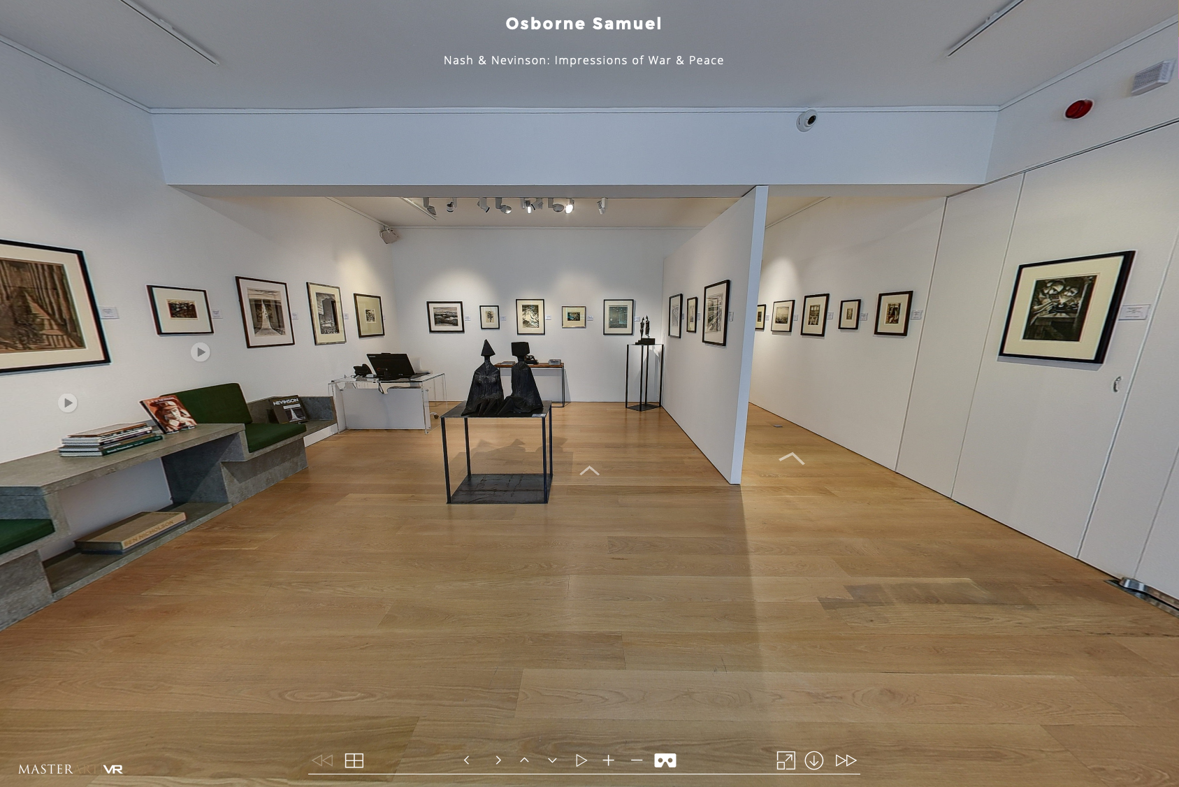 Nash & Nevinson: Impressions of War and Peace – Virtual Tour