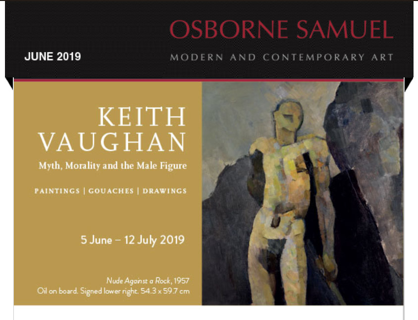 Keith Vaughan Exhibition Newsletter
