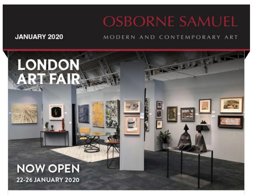 London Art Fair 2020 Newsletter