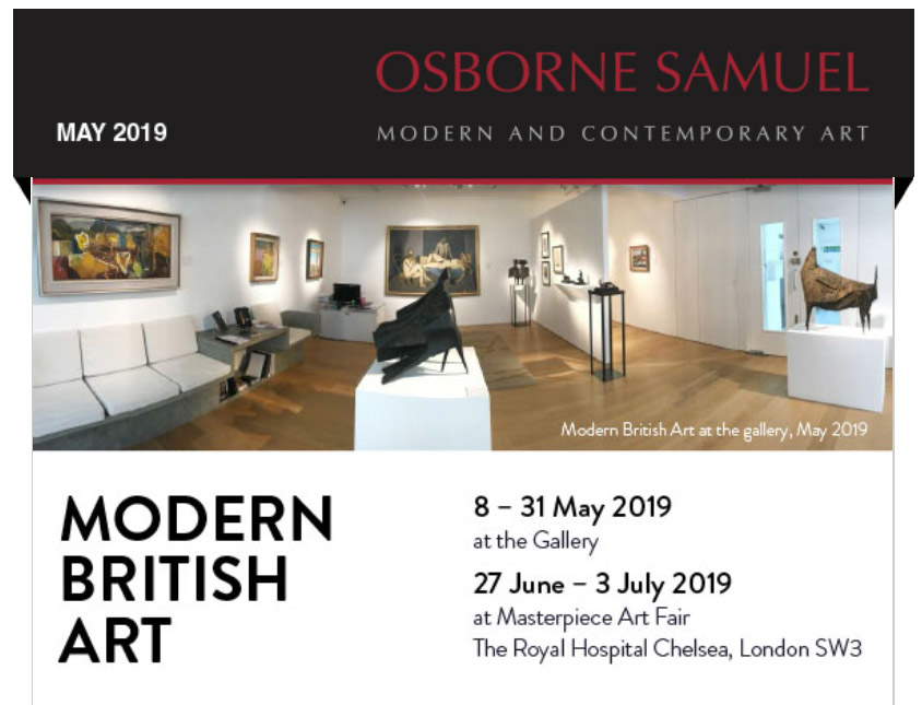Modern British Art 2019 Newsletter