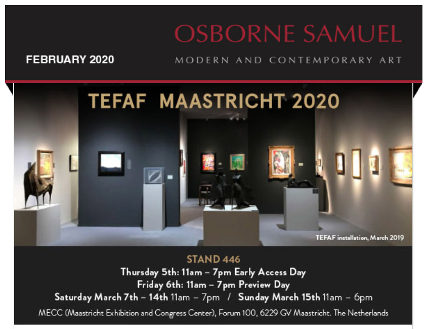 TEFAF 2020 Newsletter