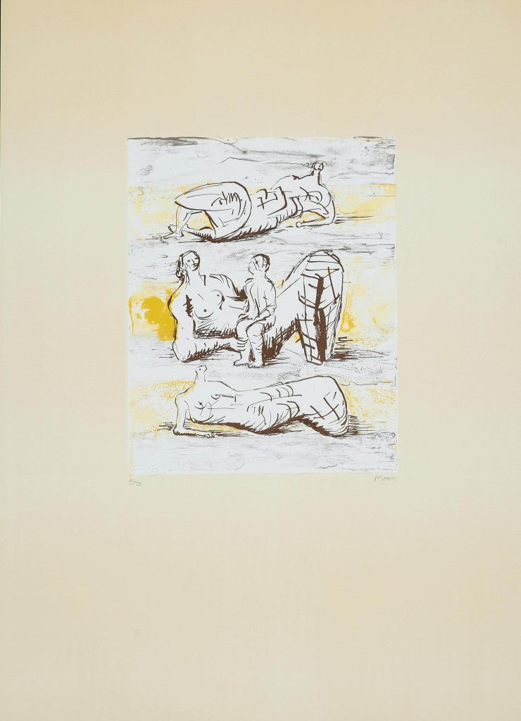 Reclining Figures and Reclining Mother and Child