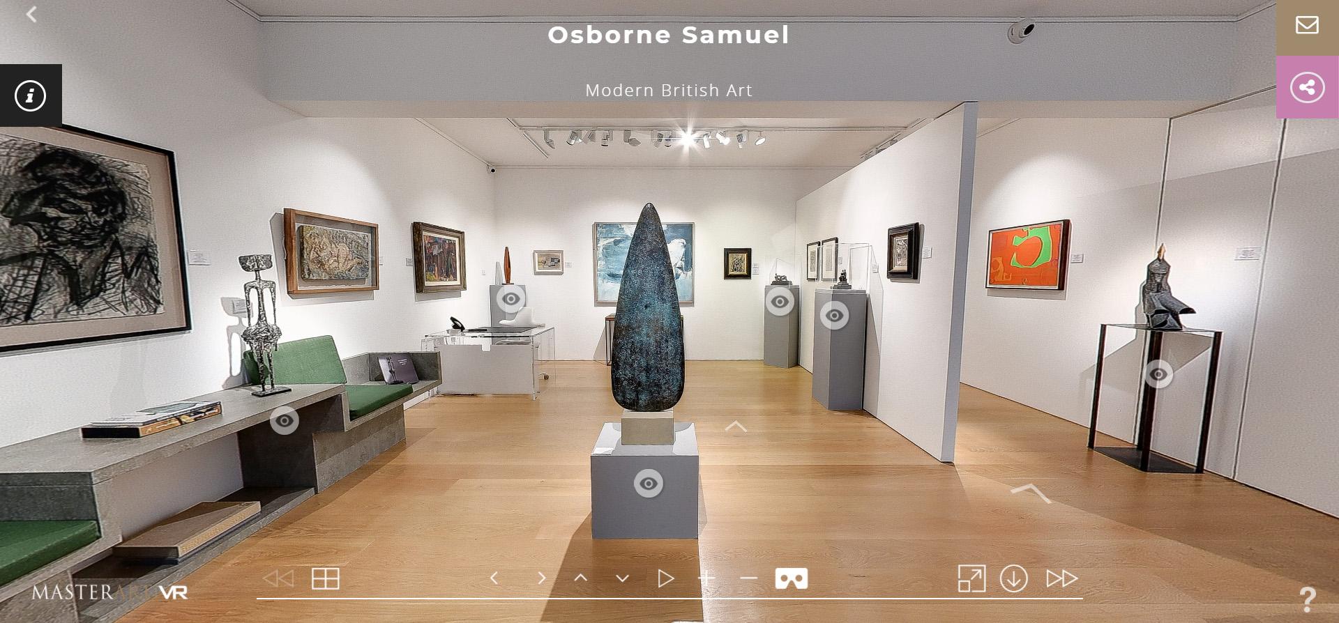 Virtual Tour – Modern British Exhibition 2020