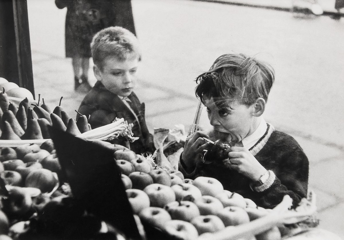 Untitled (Child with Toffee Apple and Gun)
