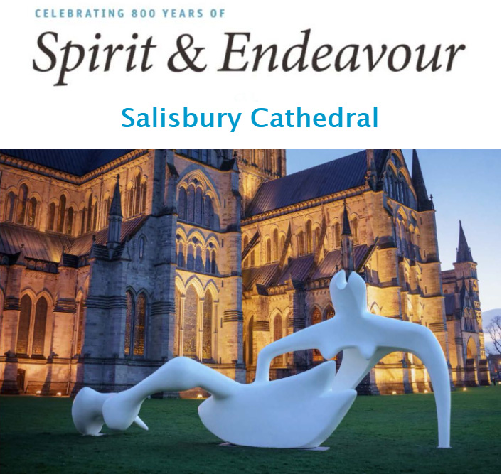 Spirit & Endeavour at Salisbury Cathedral