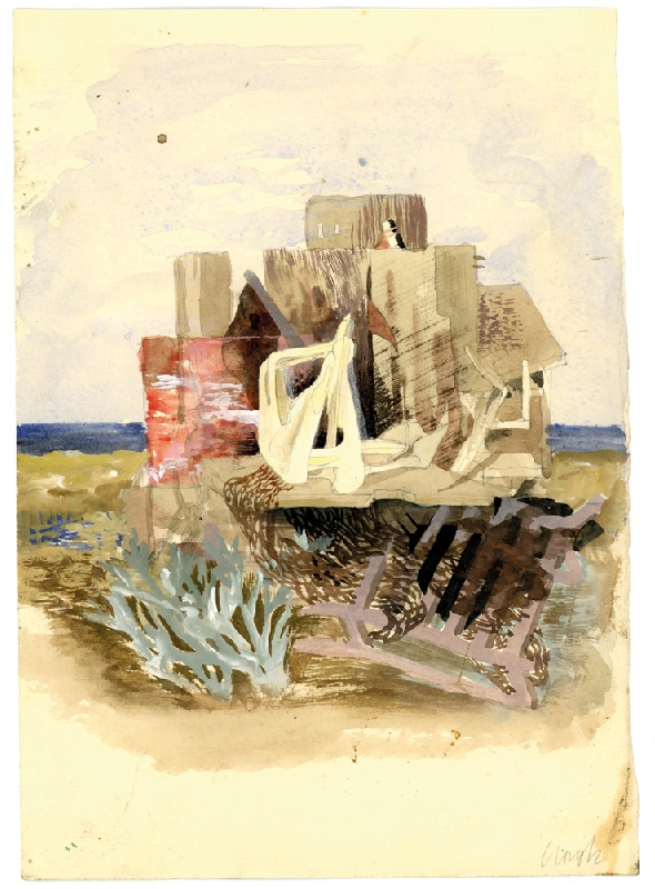 Study for Sea Composition