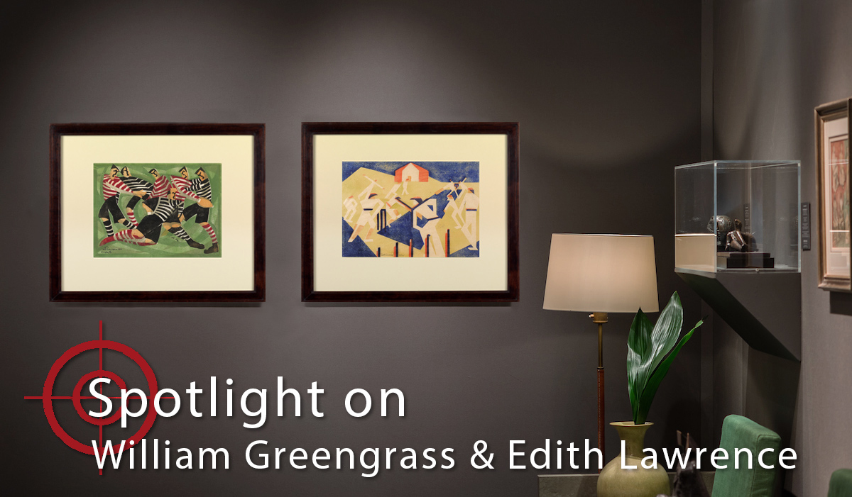 Spotlight On: William Greengrass & Edith Lawrence