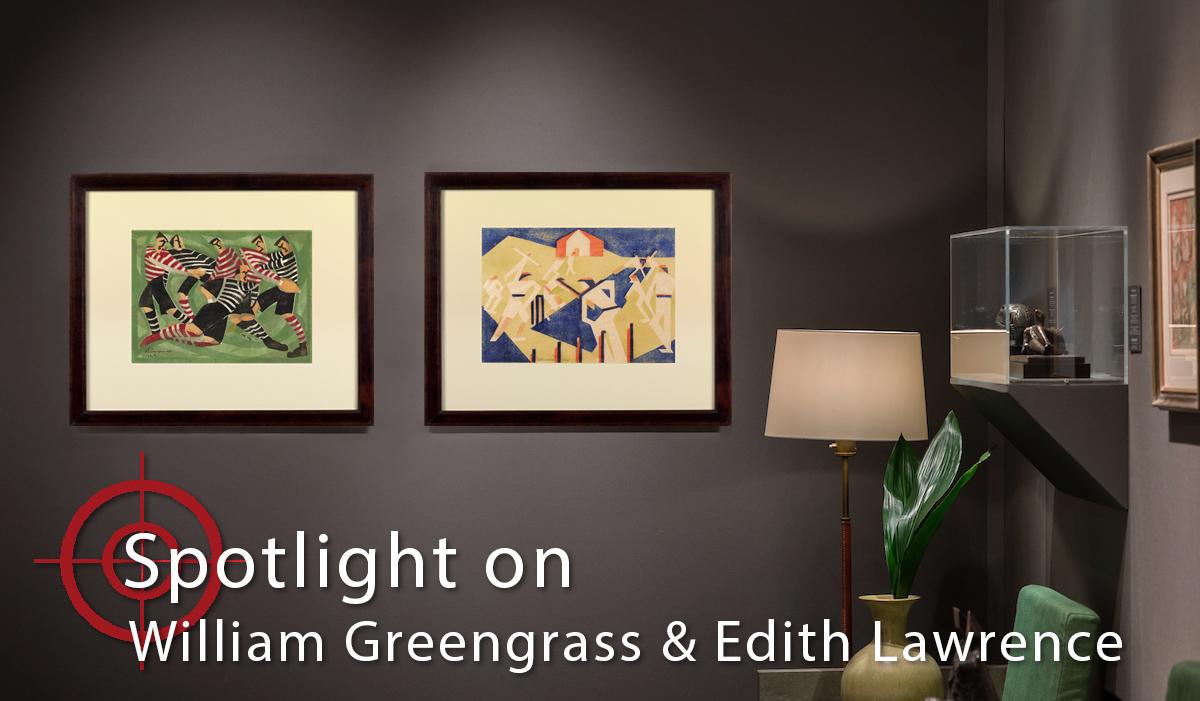 Spotlight On: William Greengrass & Edith Lawrence