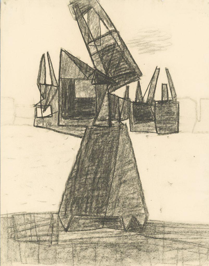 Thameside Cranes