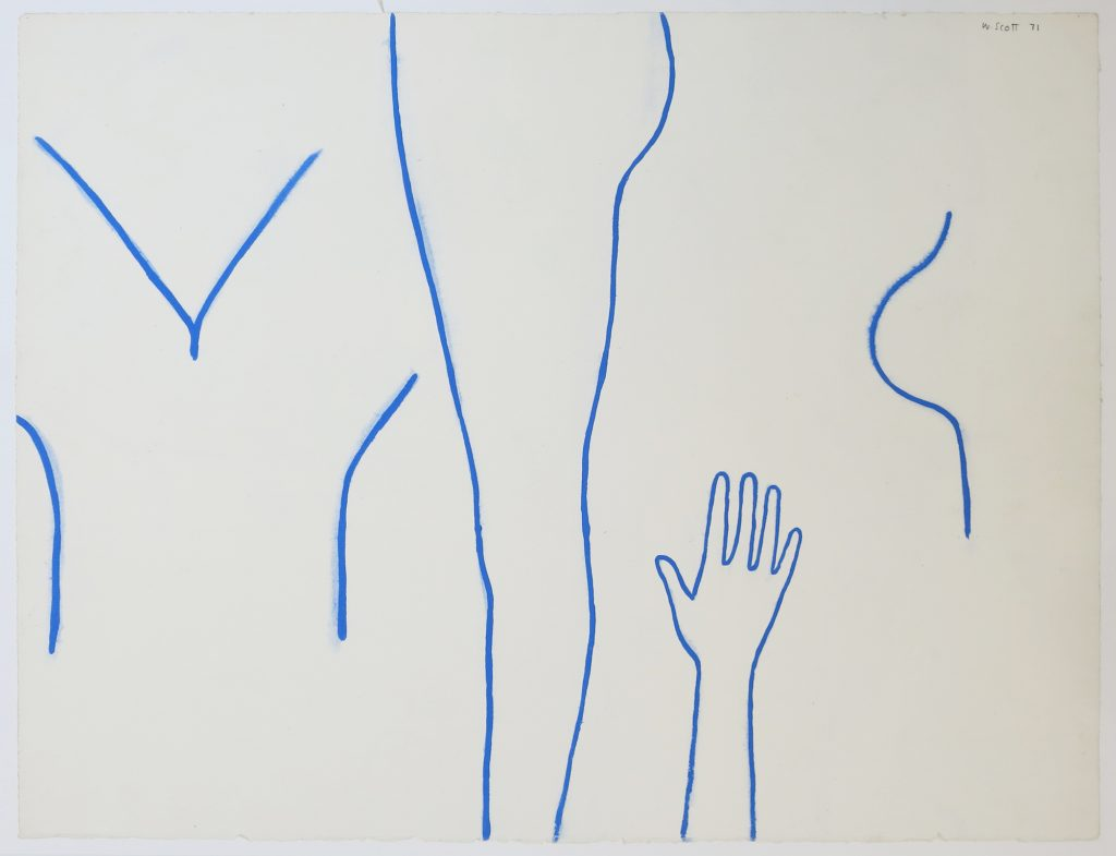Untitled (Fragments of Figure)