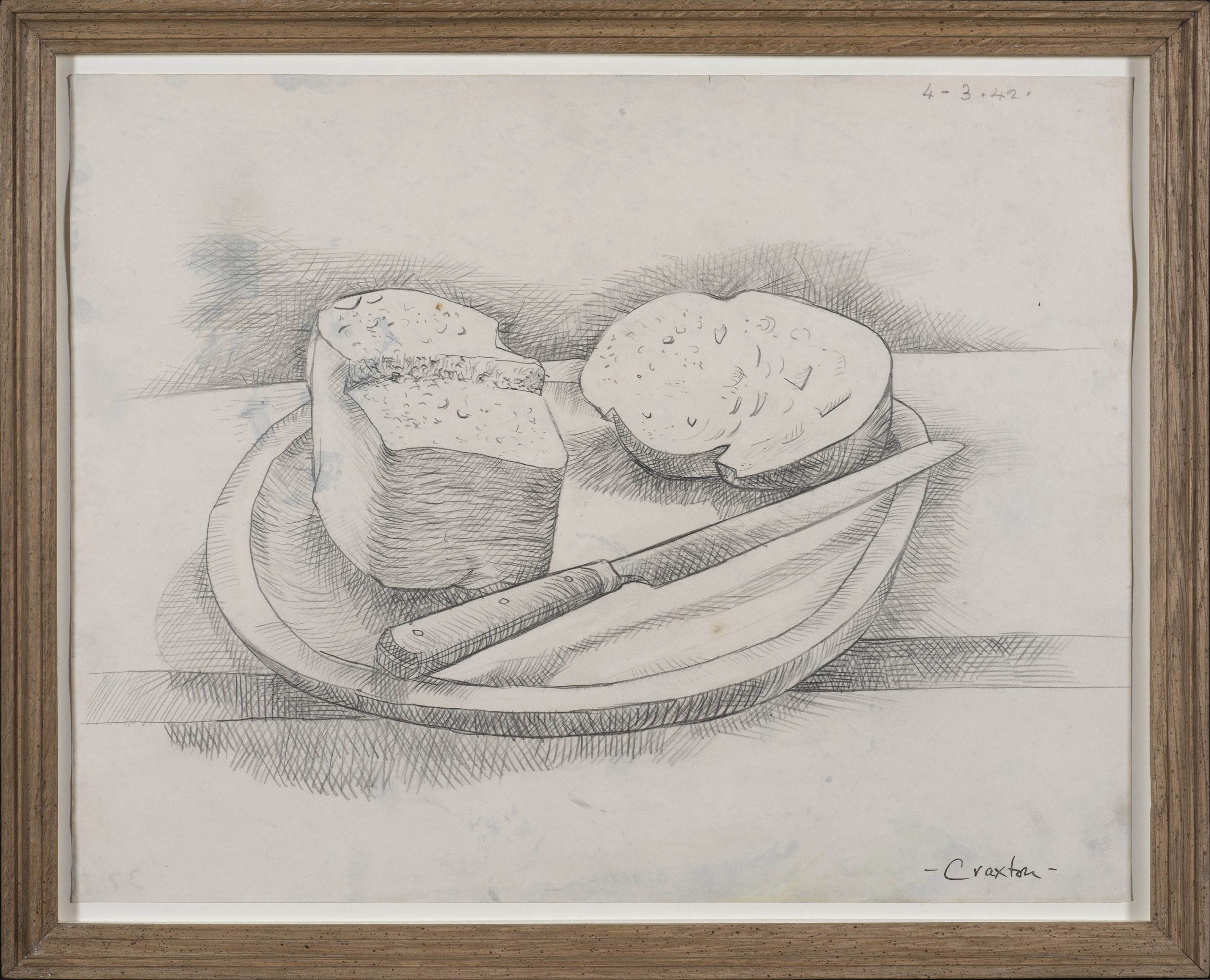 Still Life with Bread Board