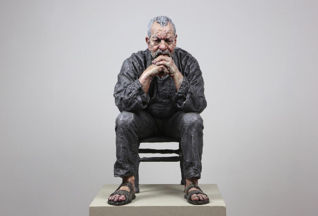 Seated Man (Working Model)