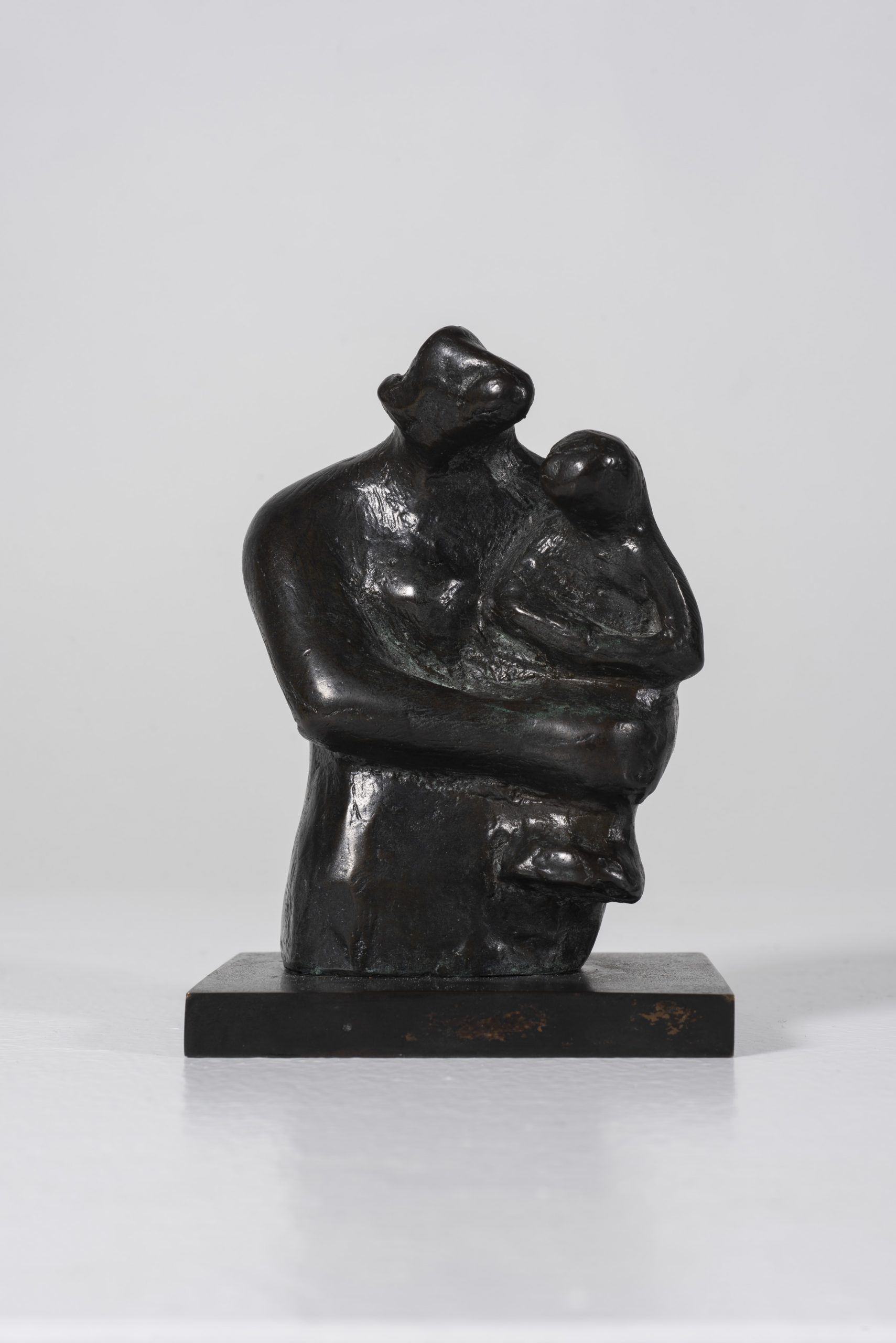 Half-Figure: Mother and Child