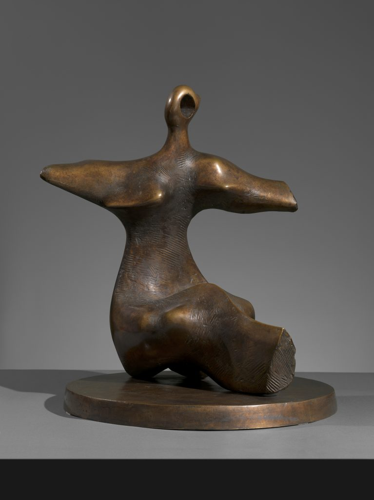 Working Model for Seated Figure: Arms Outstretched