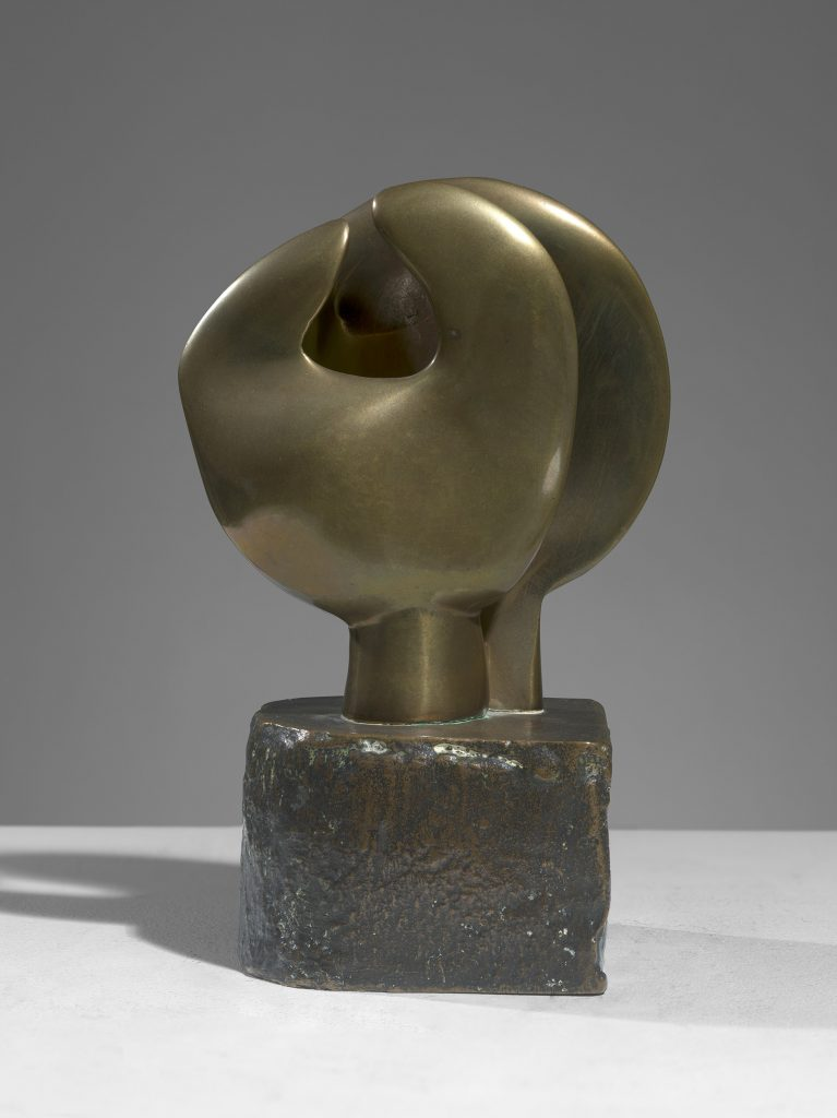 Maquette for Head and Hand (Moon Head)